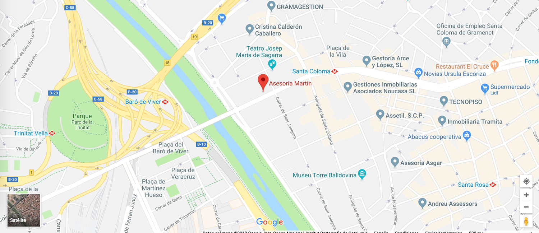google maps gestoria martin